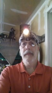 jim with headlamp